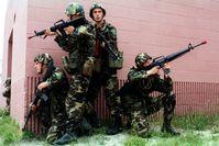 Lettische Nationale Streitkräfte im Einsatz (Symbolbild)