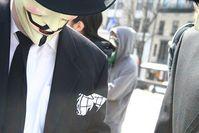 Anonymous: auch im Internet wird gekämpft. Bild: flickr/Joseph Nicola