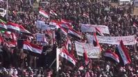 ISIS: 2012–14 Iraqi protests: Iraqi Sunni demonstrators protesting against the Shia-led government.