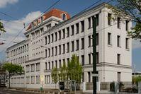 Rheinmetall-Verwaltungsgebäude in Düsseldorf-Derendorf, Architekt: Richard Bauer, 1914