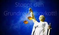 """Kampagne """"Stoppt den Grundrechtsboykott"""""""