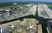 Terminal - und Vorfeld Positionen. Bild: Fraport AG