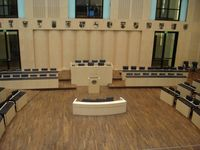 Bundesrat: Plenarsaal des Bundesrates