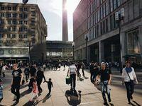 Menschen Stadt