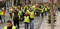Gelbwesten: Demonstration in Belfort am 1. Dezember 2018