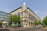 Das LKA-Gebäude am Tempelhofer Damm