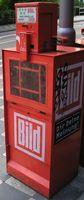 Bild-Zeitungsautomat