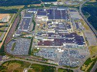 """""""Im Ford-Werk in Saarlouis werden die Modelle Focus, C-Max und Grand C-Max produziert"""". Bild: """"obs/Ford-Werke GmbH"""""""