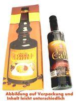 Beispiel für eine Mogelpackung: bauchige Verpackung und schmale Likörflasche