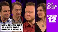 v.l.n.r.: Markus Haintz, Dr. Bodo Schiffmann, Sebastian Götz und Friederike Pfeiffer-de Bruin (2020)