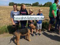 "Fehmarn: Jede Woche Protestaktionen gegen geplantes Industrieareal. Bild: ""obs/Bewahrt Fehmarn!/Mirko Kaminski"""