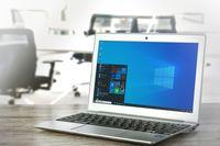 Microsoft Laptop (Symbolbild)