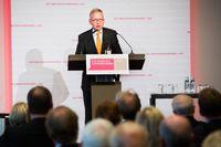 Der Präsident des Verbandes, Lutz Goebel, bei den Familienunternehmer-Tagen 2013 in Berlin.