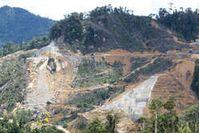 Der Bau des Murum Staudamms hat bereits begonnen. Bild: Survival