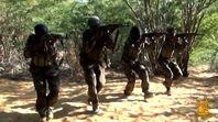 Al-Shabab-Miliz in Somalia.