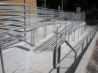 Barrierefreiheit: Rollstuhlrampe