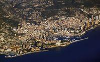 Luftansicht Monacos