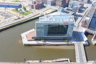 Das Spiegel-Gebäude in Hamburg
