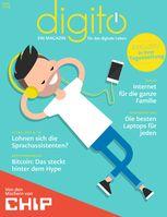 """Titelbild der Erstausgabe """"digito"""". Bild: """"obs/BurdaForward GmbH"""""""