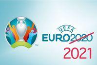 Fußball-Europameisterschaft 2021 (offiziell UEFA EURO 2020) Logo