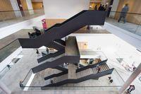 Frankfurter Universität: Das neue Hörsaalgebäude des Campus Westend, November 2010