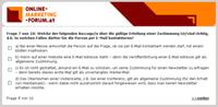 Schnelltest über rechtliche Grundlagen (Grafik: Online-Marketing-Forum.at)