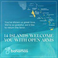 14 Inseln der Bahamas begrüßen Besucher mit offenen Armen