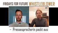 Fridays For Future Whistleblower – Pressesprecherin packt aus