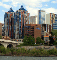 Hauptsitz der Bridgewater Bank in Calgary, Alberta, Kanada
