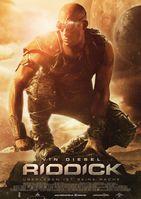 """Kinoplakat von """"Riddick – Überleben ist seine Rache"""""""