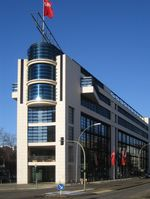 SPD Bundeszentrale Willy-Brandt-Haus in Berlin