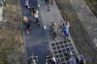 """Gut befahren: Die """"SolaRoad"""" stört Radler nicht. Bild: solaroad.nl"""