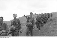 Wehrmachtssoldaten in Russland - Dort wo die Bundeswehr heute wieder mit voll bewaffneten Invasionskräften steht...