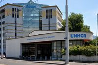 Hauptquartier des UNHCR in Genf (Schweiz) (Garage des Nations)