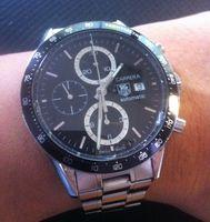 Ein Chronograph aus der Carrera-Serie von 2010