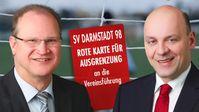 Landessprecher der hessischen AfD, Robert Lambrou und Klaus Herrmann (2018)