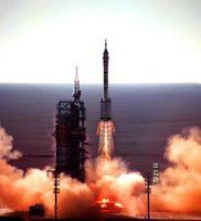 Start von Shenzhou 5