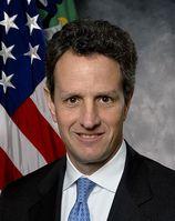 Timothy Franz Geithner Bild: United States Treasury Department