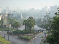 Addis Abeba ist die Hauptstadt von Äthiopien.