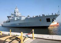 Die Fregatte Sachsen (F 219) ist das Typschiff der Luftverteidigungsfregatten der Klasse 124 der Deutschen Marine.