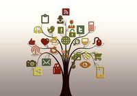 Social-Media-Baum: 3 Mrd. Nutzer für soziale Medien. Bild: geralt, pixabay.com