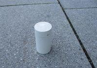 Der aufgefundene Isotopenbehälter Bild: Polizei
