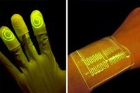 Intelligenter Fingerkuppen-Sensor und Sensor-Bandage. Bild: web.mit.edu