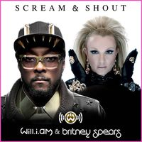 """Will.i.am And Britney Spears """"Scream & Shout"""" Single Cover"""