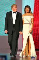 Donald und Melania Trump auf der Feier zur Amtseinführung