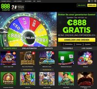 Bild: Screenshot der Webseite 888casino.com