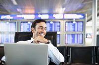 """Flughafen Frankfurt: kostenfreies Internet rund um die Uhr. Bild: """"obs/Fraport AG"""""""