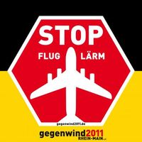"""STOP FLUGLÄRM wurde von gegenwind2011 Rhein-Main e.V. geschaffen. Bild: """"obs/gegenwind2011 Rhein-Main e.V"""""""