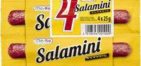 Salamini classic 4x25g