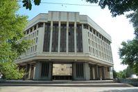 Der Oberste Rat der Krim Gebäude in Simferopol